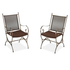 <strong>Home Styles</strong> Sundance Dining Arm Chair with Cushion (Set of 2)