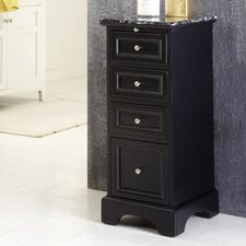 "Bedford 14.5"" x 35.5"" 4 Drawer Bath Cabinet"