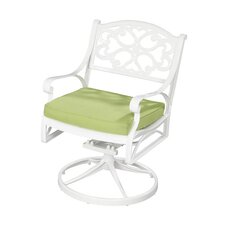 <strong>Home Styles</strong> Biscayne Cushioned Swivel Chair