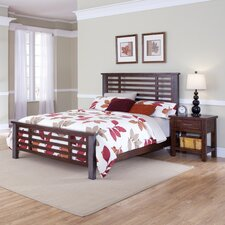 Cabin Creek Slat 2 Piece Bedroom Collection