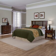 Cabin Creek Slat 3 Piece Headboard Bedroom Collection