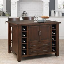 <strong>Home Styles</strong> Cabin Creek Kitchen Island Set