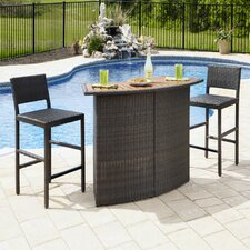 <strong>Home Styles</strong> Riviera 3 Piece Dining Set