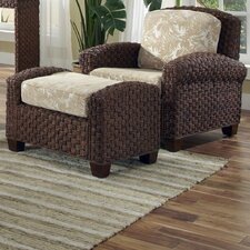 <strong>Home Styles</strong> Cabana Banana II Chair and Ottoman