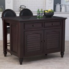 <strong>Home Styles</strong> Bermuda Kitchen Island Set
