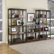 Modern Craftsman 3 Piece Multi-Function Shelving Unit Set