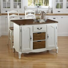 <strong>Home Styles</strong> French Countryside Kitchen Island