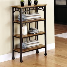 Modern Craftsman 4 Tier Shelf