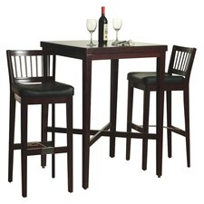 "3 Piece 42.25"" Pub Table Set"
