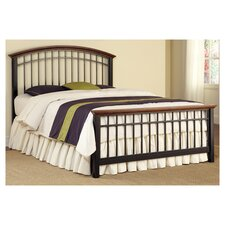 Modern Craftsman Slat Bed