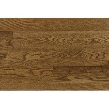 """Bastia 2-1/4"""" Solid Red Oak Parquet Flooring in Pacific"""
