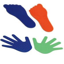 Feelies Hands and Feet (Set of 12)