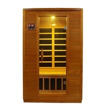 <strong>Dynamic Infrared</strong> Luxury 2 Person IR Carbon FAR Infrared Sauna