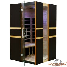 2 Person Modern Far Infrared Carbon Sauna