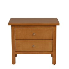 <strong>Urbangreen Furniture</strong> Hudson 2 Drawer Nightstand