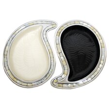 Yin Yang Tray (Set of 2)