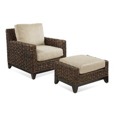 <strong>Braxton Culler</strong> Tribeca Chair and Ottoman