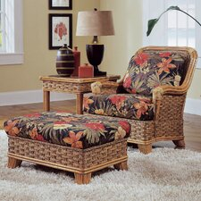 <strong>Braxton Culler</strong> Somerset Chair and Ottoman