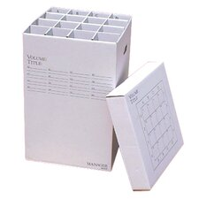 16 Slot Rolled File Filing Box