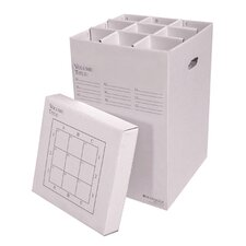 9 Slot Rolled File Filing Box