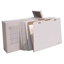 Vertical Flat File Storage System (Set of 8)