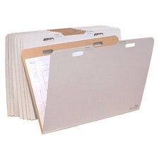 Vertical Flat Folder (Set of 8)
