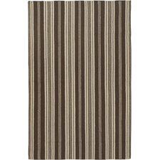 Farmhouse Stripes Brown Rug