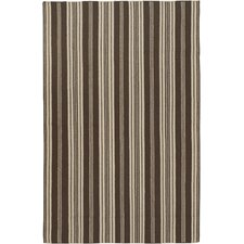 Farmhouse Stripes Brown Rug