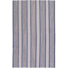 Farmhouse Stripes Navy/Blue Rug