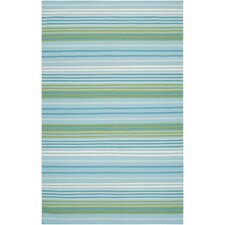 <strong>Country Living™ by Surya</strong> Happy Cottage Aqua / Turquoise Rug