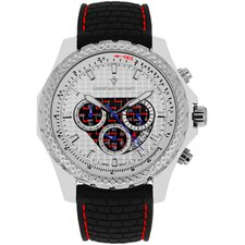 Men's Sports Retrograde Chronograph Watch