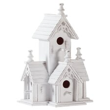 Historic Manor Free Standing Birdhouse
