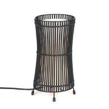 """Tapered Cage 12.25"""" H Table Lamp"""