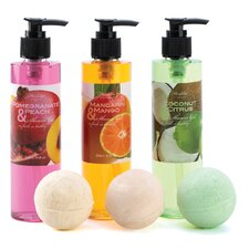 3 Piece Refreshing Fruit Bath Set