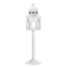 Pedestal Gazebo Free Standing Birdhouse