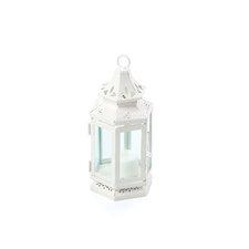 Stagecoach Iron and Glass Lantern