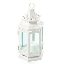 Stagecoach Iron & Glass Lantern
