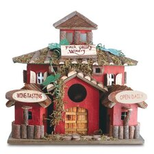 """Finch Valley Winery"" Birdhouse"