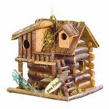 Gone Fishin' Treehouse Birdhouse