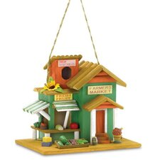 Colorful Farmers Market Birdhouse
