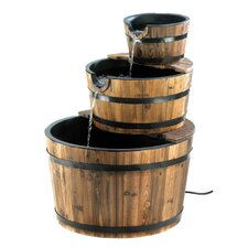 <strong>Zingz & Thingz</strong> Barrel Trio Fountain