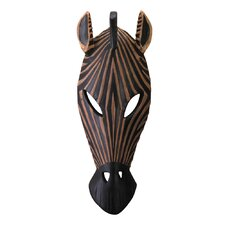 Zebra Mask Wall Décor