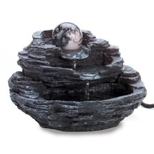 <strong>Zingz & Thingz</strong> Polyresin Rolling Orb Fountain