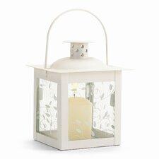 Petite Ivory Vine Square Lantern