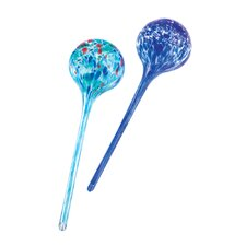 Azure Garden Plant Globes (Set of 2)