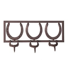 Horseshoe and Spur Coat Rack