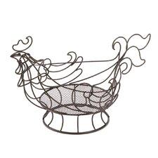 Rooster Wire Kitchen Basket
