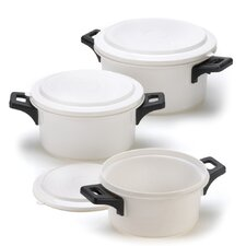 <strong>Zingz & Thingz</strong> 6-Piece Quick Cook Trio Cookware Set