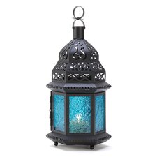 Moroccan Iron and Glass Lantern