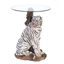 Tiger End Table